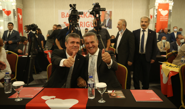 TDP Genel Başkanı Sarıgül, Sakarya İl Kongresine Katıldı