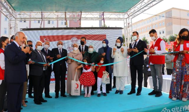 Binali Yıldırım'ın Eşi Semiha Yıldırım Tekirdağ'da Anaokulu Açılışı Yaptı