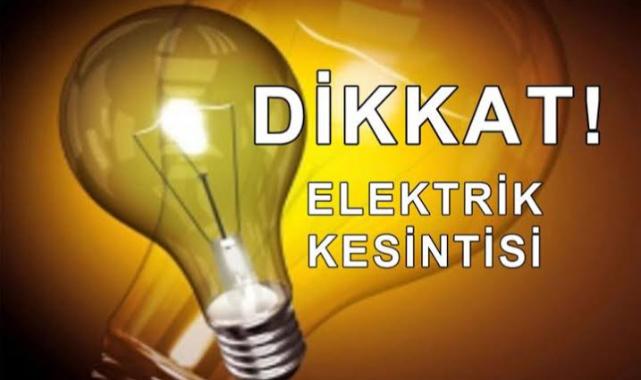 Çorlu'da 8 Saatlik Elektrik Kesintisi