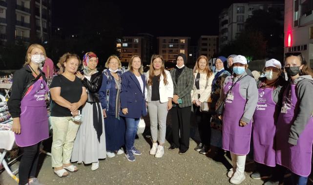 Çorlu'nun İlk Gece Çarşısı Açıldı