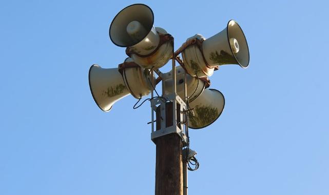 Kırklareli'nde Siren ve Anons Sistemi Denemesi Yapılacak