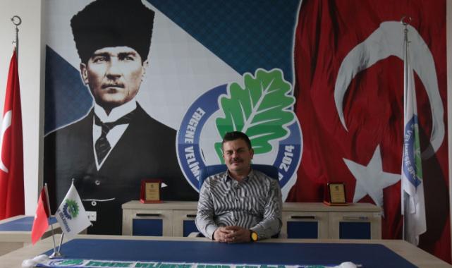 """Velimeşespor Başkanı Bezgin, """"Daha Yeni Başlıyoruz"""""""