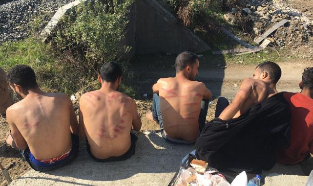 Yunan Askerlerince Darbedilen Göçmenler Edirne'de Tedavi Edildi