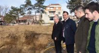 Başkan Albayrak 11 İlçe 11 Okul Projesi Çalışmalarını Yerinde İnceledi