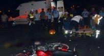 Motosiklet kazası 1 ölü