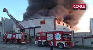 Ergene'de Korkutan Yangın