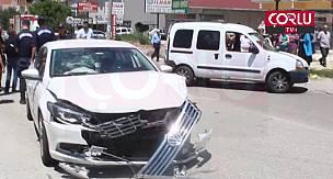 Saray'da Trafik Kazası 3 Yaralı