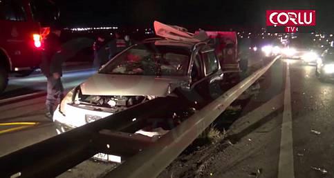 Silivri'de Feci Kaza. 1'i Çocuk 2 Ölü 3 Yaralı