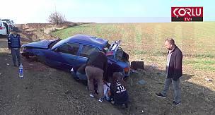 Otomobil Takla Attı 2 Yaralı