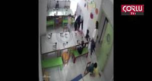 Çorlu'da Özel Kreşte Çocuklara Dayak Skandalı