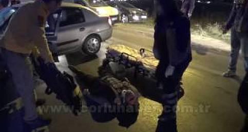 Çorlu da Trafik Kazası