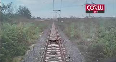 Çorlu Tren Kazası Güvenlik Kamerası