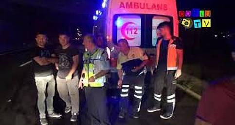 Çorlu'da Feci Kaza, 1 Ölü 2 Yaralı
