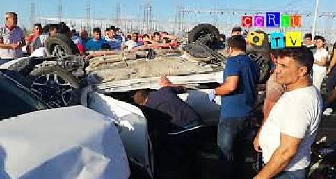 Çorlu'da Feci Kaza Ölümle Sonuçlandı